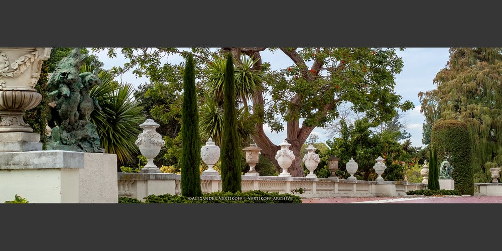 "Image of ""Urns upon the Balustrade"" 