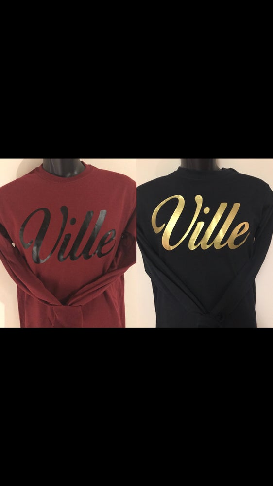 Image of Long Sleeve Ville Shirts