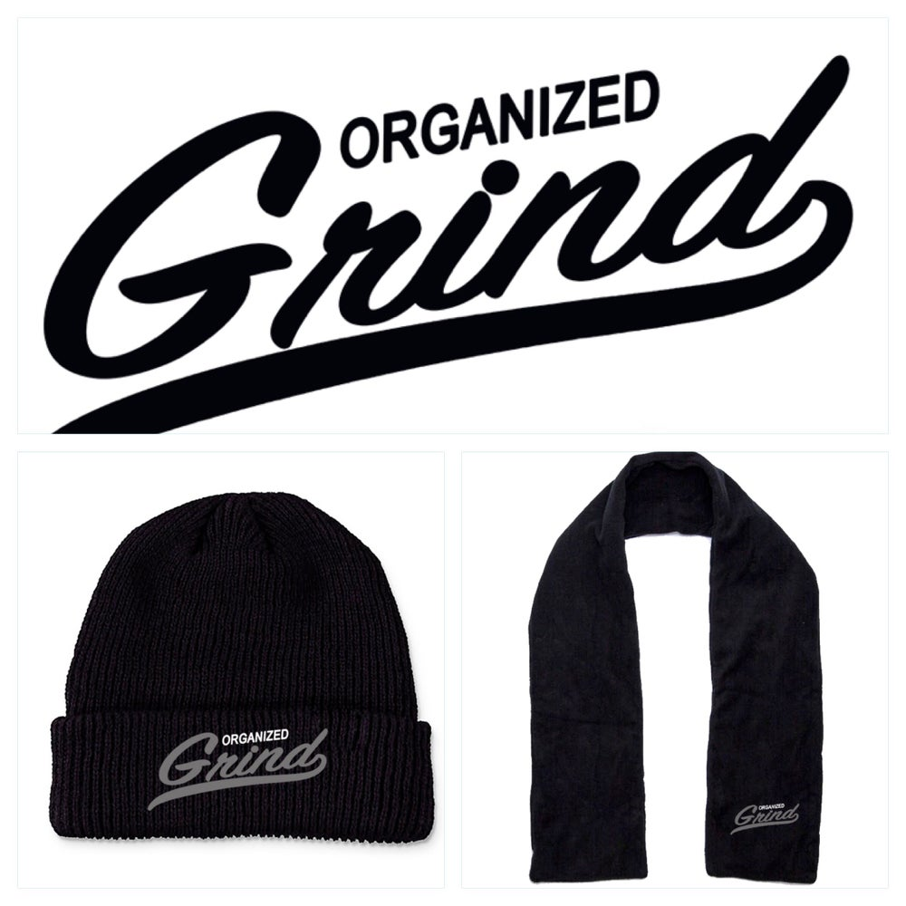 Image of New - OG Team Beanie & Scarf