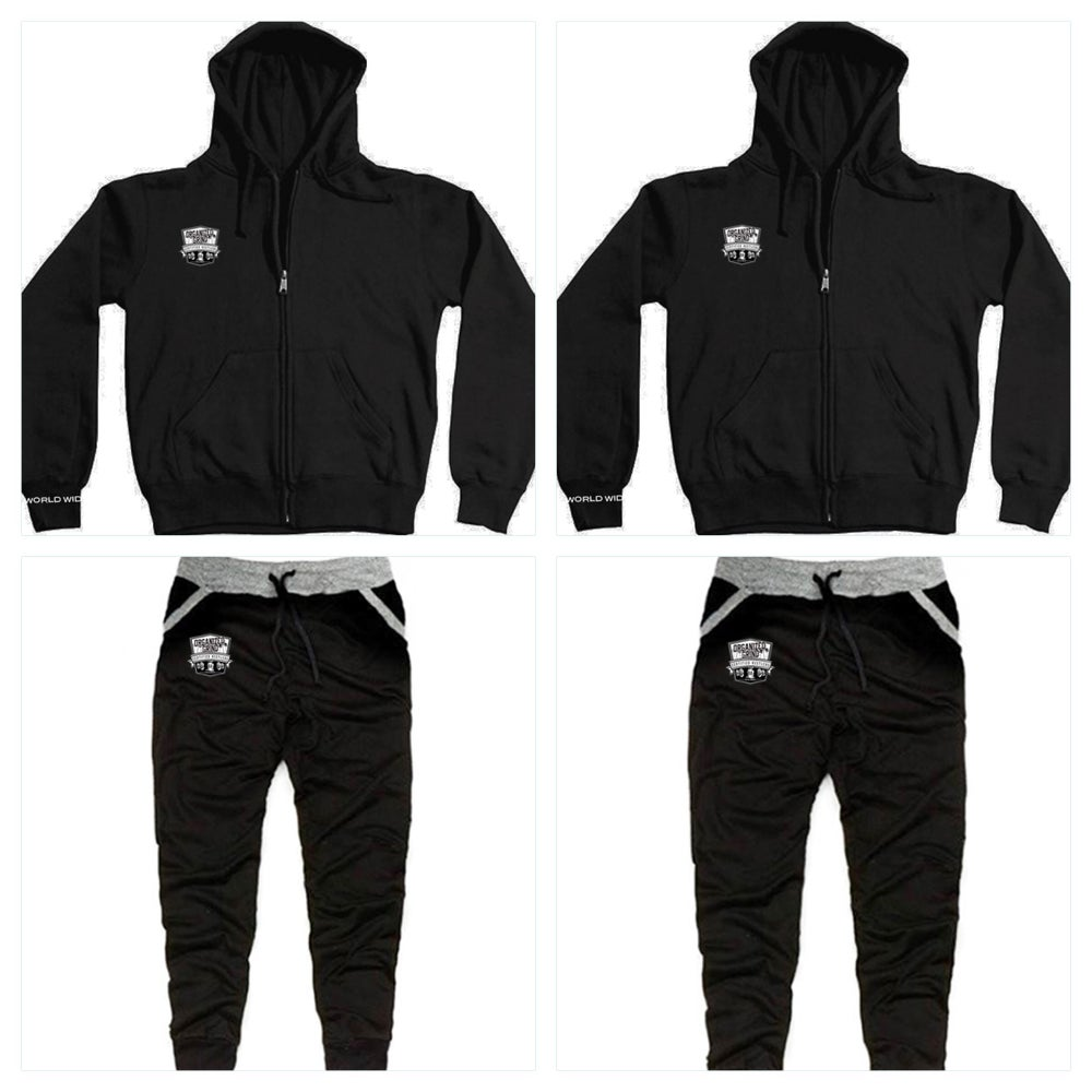 Image of New - OG Zipper Hoodie & Matching Joggers