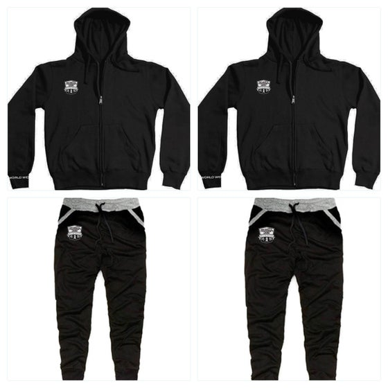 Image of New - OG Logo Zipper Hoodie & Joggers