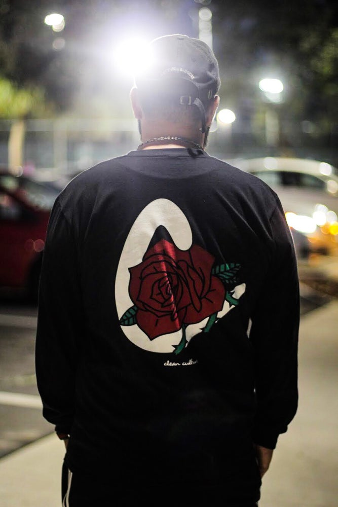 """Image of Limited Edition """"Rose"""" Long Sleeve"""
