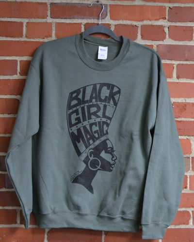 Image of Black Girl Magic Sweatshirt