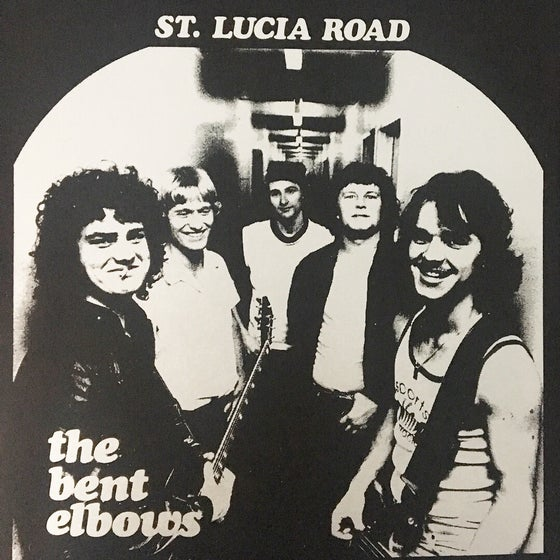 "Image of LCMR-017 THE BENT ELBOWS - ST LUCIA ROAD 7"" EP"