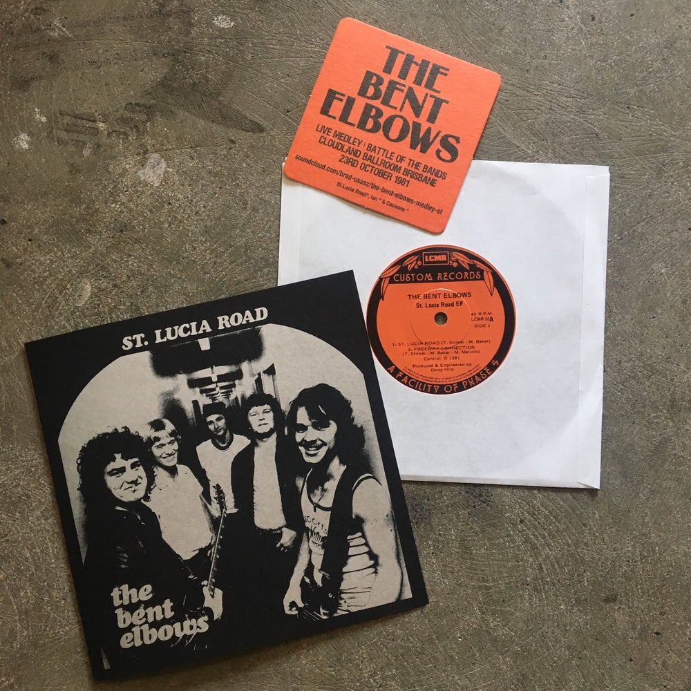"""Image of LCMR-017 THE BENT ELBOWS - ST LUCIA ROAD 7"""" EP"""