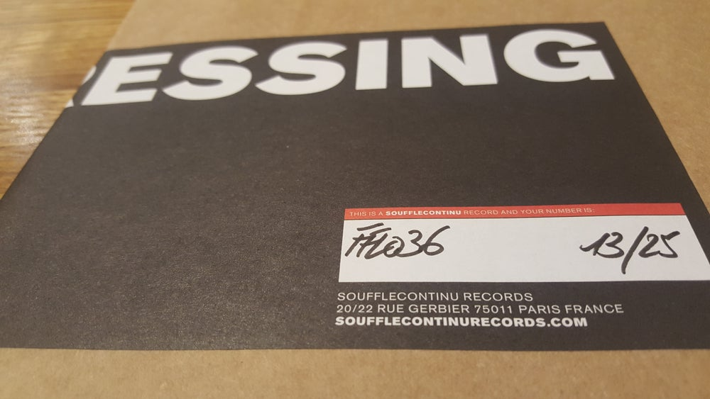 Image of HELDON - Stand By TEST PRESSING (FFL036TP)