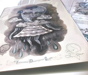 Image of 'TORRENTIAL DOWNPOUR GIRL LIMITED EDITION OF 20