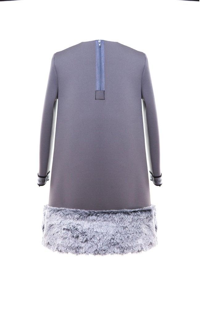 Image of SNOW grey dress