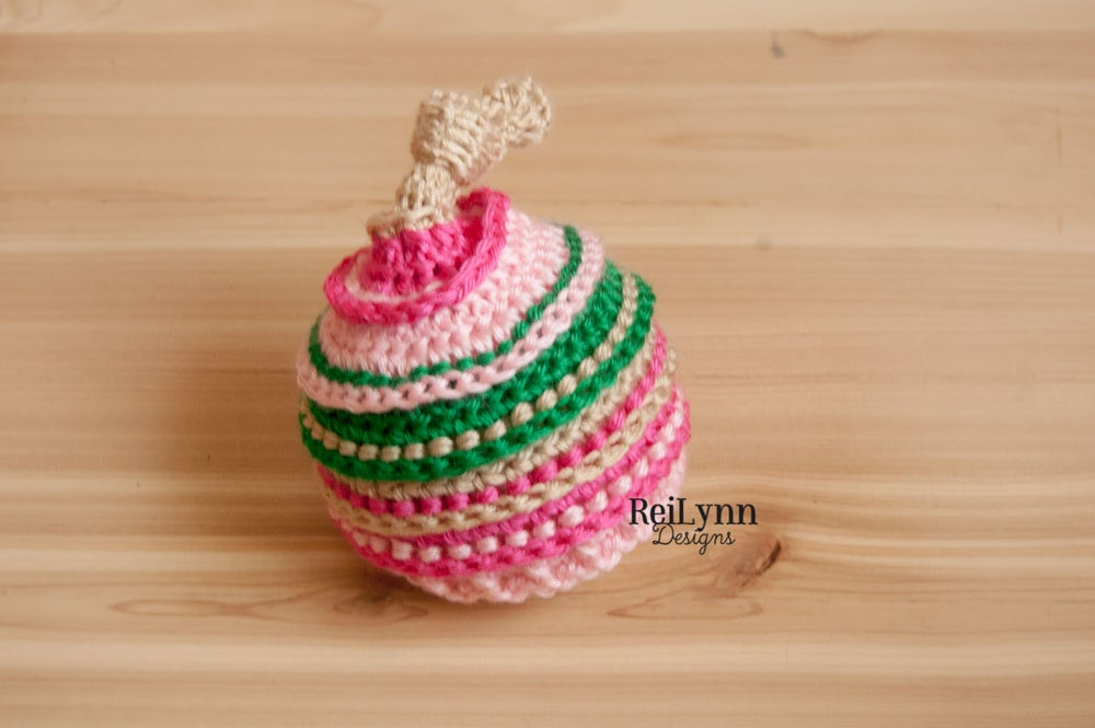 Image of Lucky Shamrock Knotty Beanie- Bone, Hot Pink, Pink and Emerald