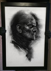 "Image of ""Powerslave"" Original Karloff Mummy art"