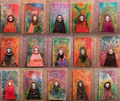 Image of Skull Dollies Series