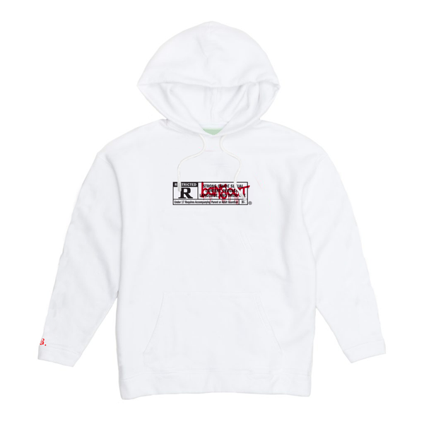 Image of RESTRICTED /17+ HOODIE