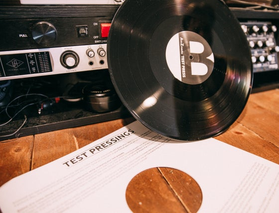Image of Audio Tree Vinyl Test Pressing (RARE)