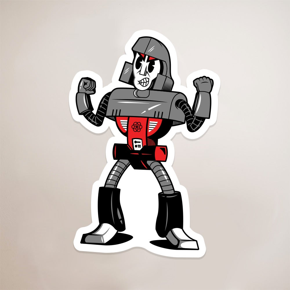 Image of Autotoon Megsy Sticker