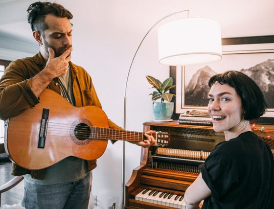 Image of Cowrite a song with Genevieve and Marc
