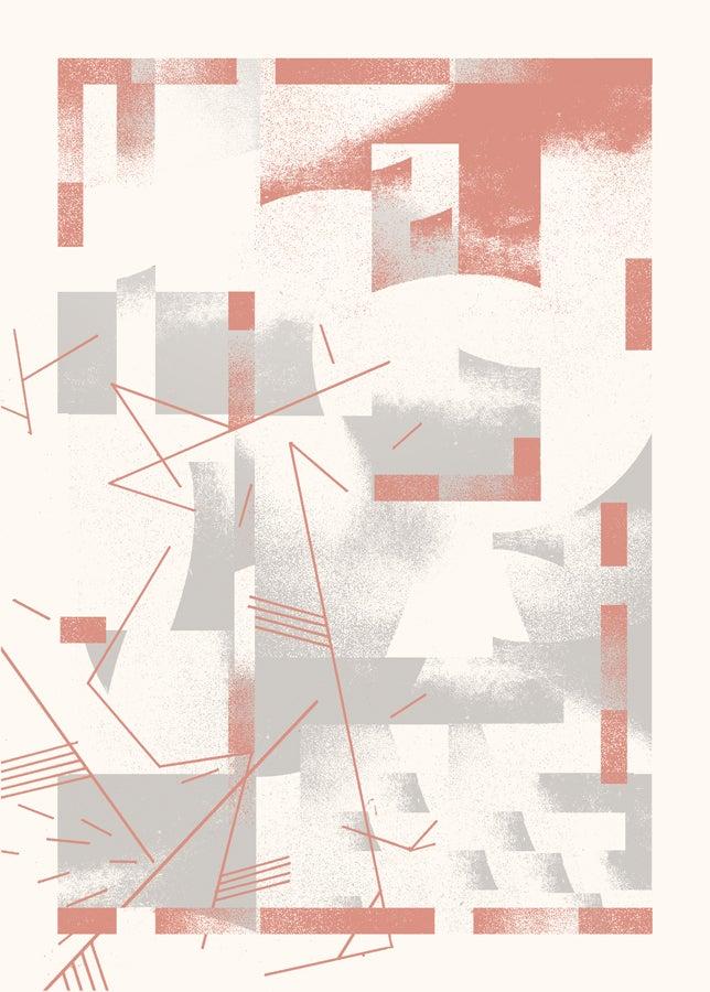 """Image of Artprint """"PERÇÉE"""" (2017)"""