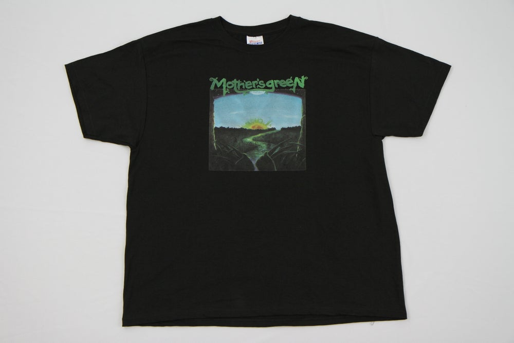 Image of MOTHER'S GREEN SELF TITLED  T SHIRT  FREE WITH PURCHASE OF VINYL CD COMBO