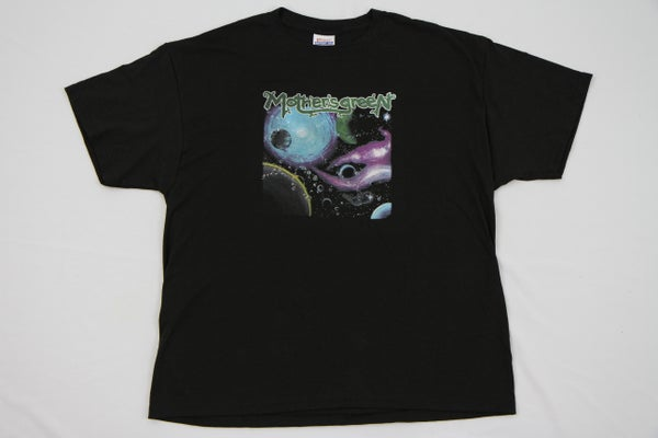 Image of MOTHER'S GREEN BACK COVER T SHIRT FREE WITH PURCHASE OF VINYL CD COMBO