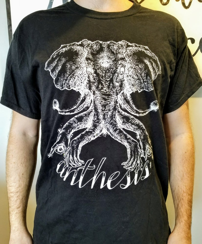Image of Anthesis - Elephant T-shirt - Black