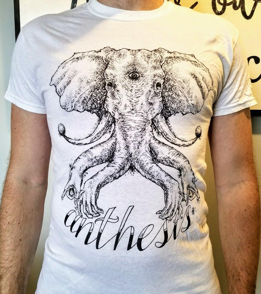 Image of Anthesis - Elephant T-shirt - White