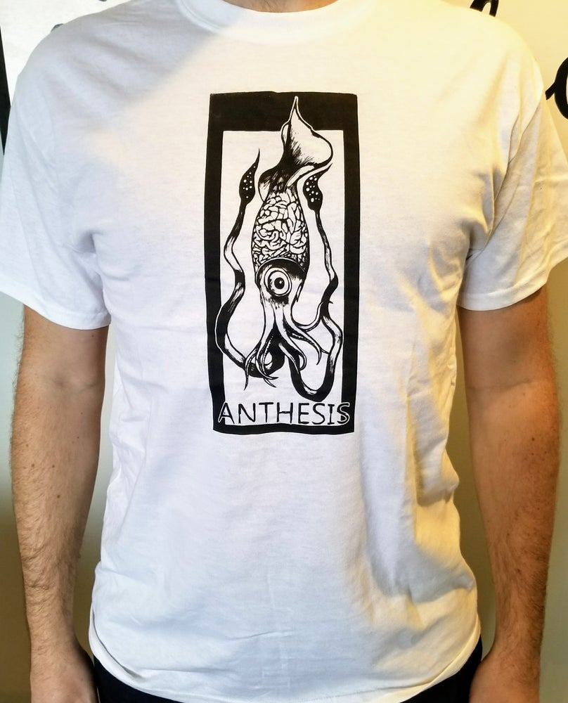 Image of Anthesis - Squid T-shirt - White