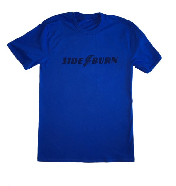 Image of Sideburn Wingboot T-shirt BLUE