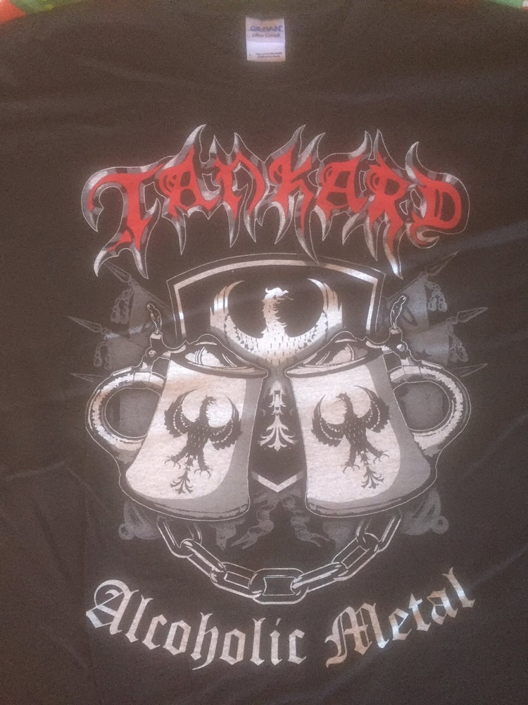 Image of TANKARD - 2014 CLEARENCE TOUR SHIRT AUSTRALIAN EXCLUSIVE