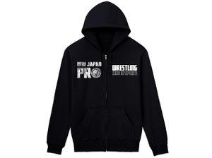 Image of NJPW Full Zip-Up Hoodie