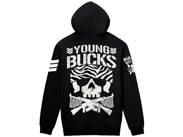 Image of Young Bucks Bullet Club Full Zip-Up Hoodie