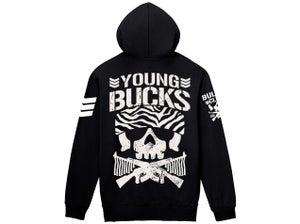 Image of Young Bucks Bullet Club Full Zip-Up Hoodie