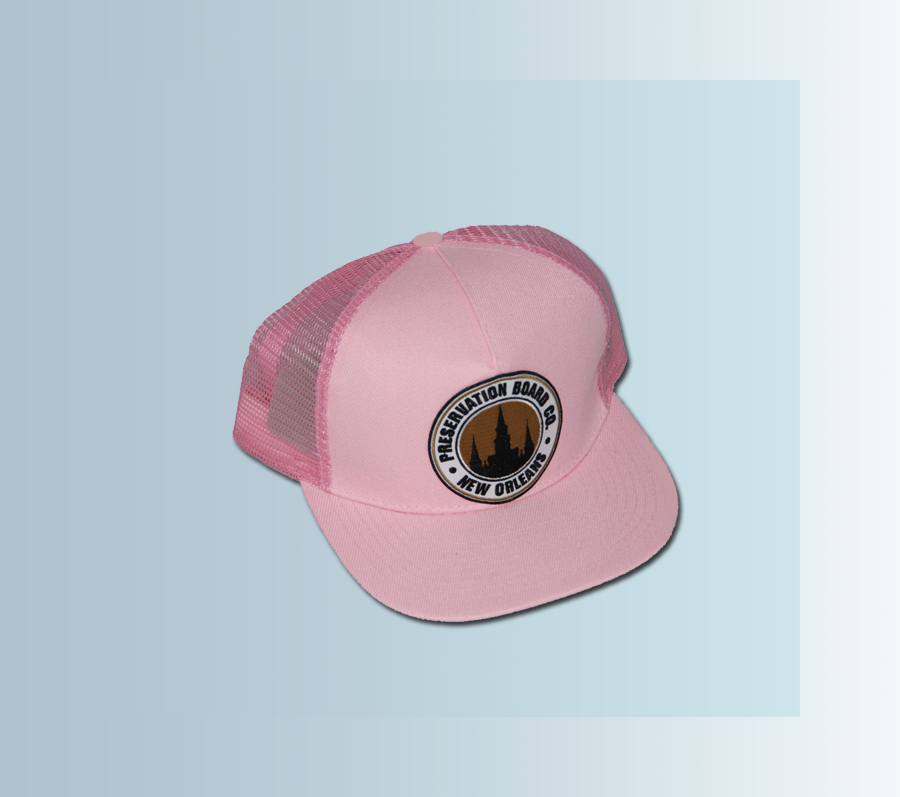 Image of Cathedral Trucker Hat (PINK)