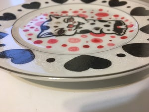Image of Severed Parasite - Hand painted plate