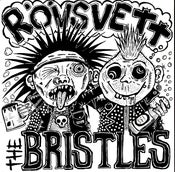 "Image of BRISTLES/RÖVSVETT - split 7"" EP"