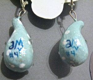 Image of Pain Drop Earrings #4 OF 7