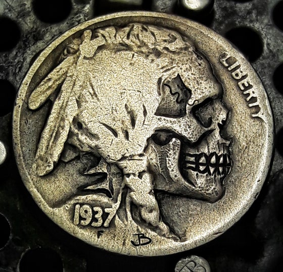 Image of Indian Skull Buffalo Nickel - Made To Order