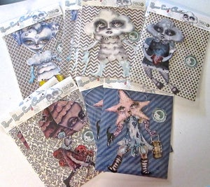 Image of Lost to The Sea - Papercut Cuties Paper Doll