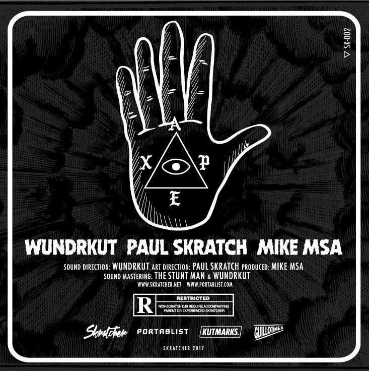 "Image of APEX - SKRATCHER (WUNDRKUT, PAUL SKRATCH & MIKE MSA) 7"""
