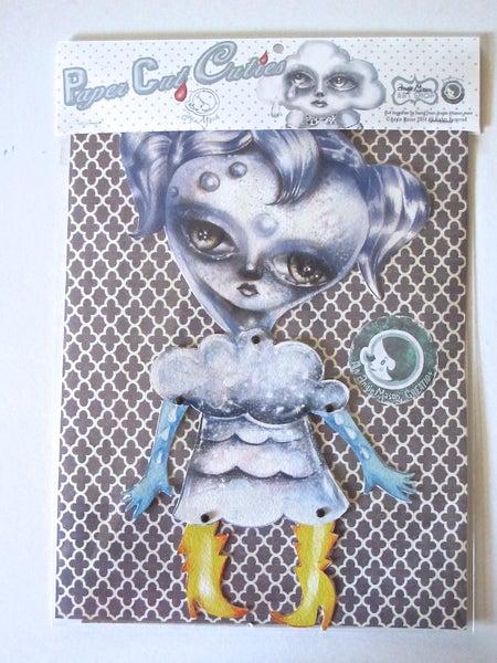 Image of Reyna Rain Drop Girl - PaperCut Cuties™