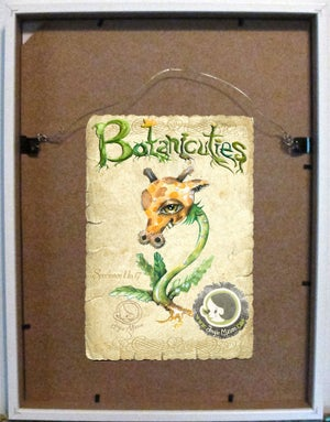 Image of BOTANICUTIES SPECIMEN NO.17 - Original art