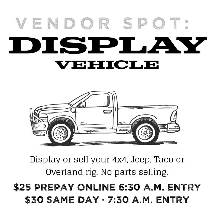 Image of Display Vehicle