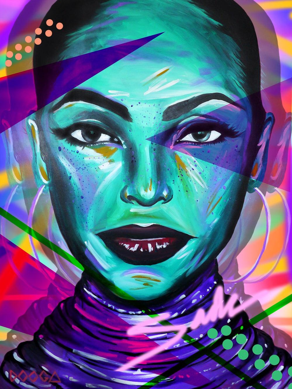 Image of Sade Remix - Canvas Print