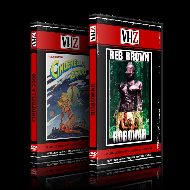 Image of Combo VHZ Robowar + Cinderella 2000 + Odisea Sexual