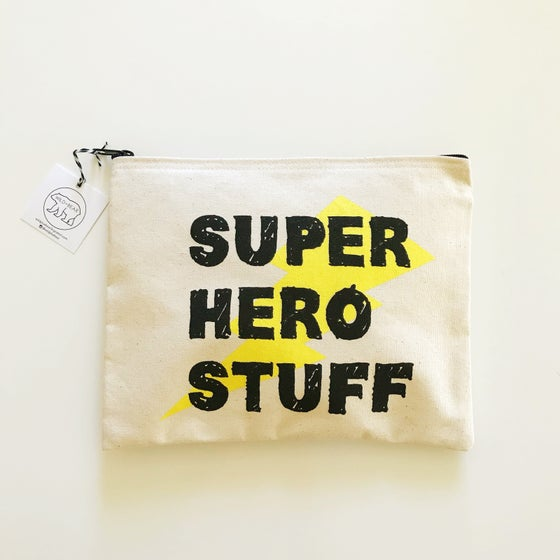 "Image of ""SUPER HERO STUFF"" POUCH"