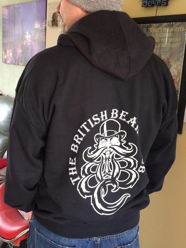 Image of The TBBClub Gildan Black Hoodie