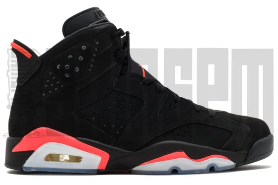 "Image of Nike AIR JORDAN 6 RETRO ""INFRARED"""