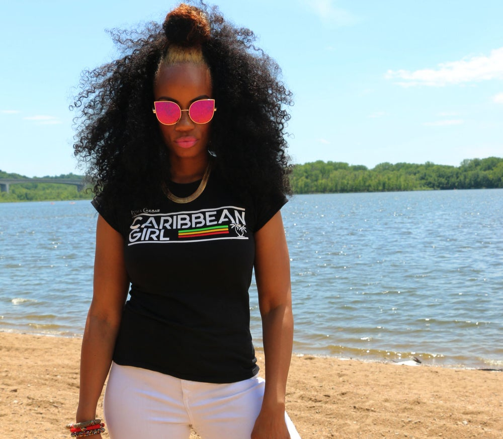 Image of Caribbean Girl T-Shirts
