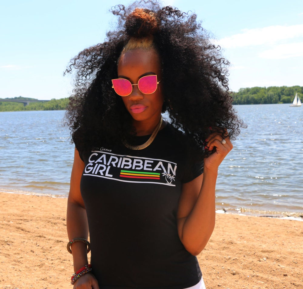 Image of Caribbean Girl T-Shirts