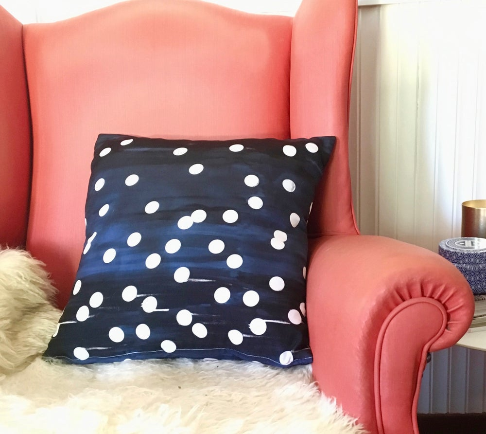 Image of Midnight Stars Cushion Cover
