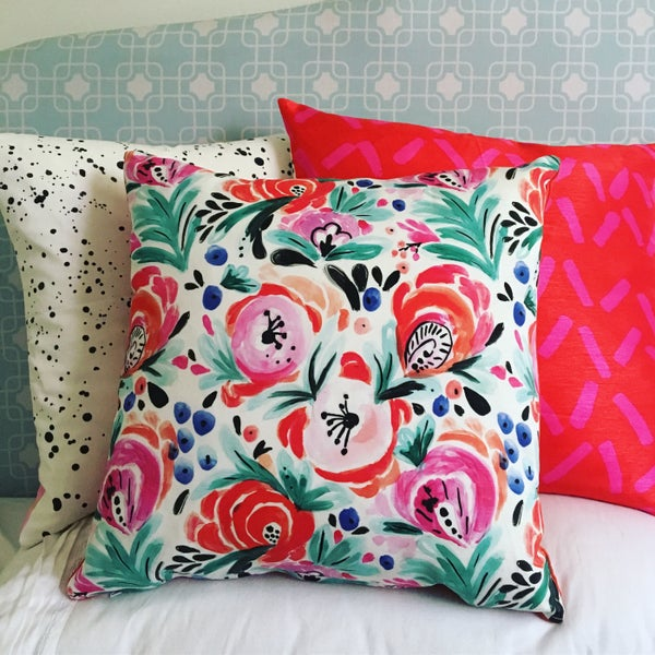Image of Spring Floral Cushion Cover Medium