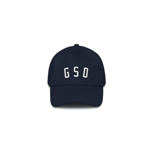 Image of GSO Collegiate Dad Cap - Navy